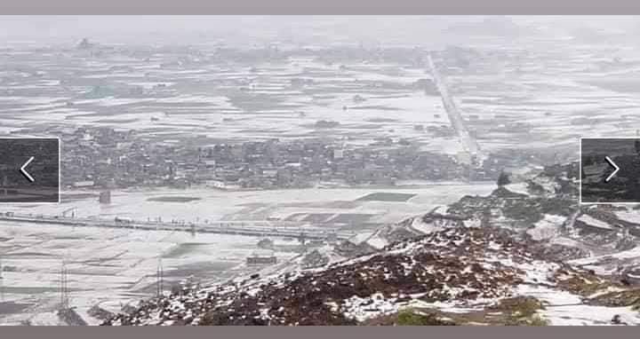 أمطار وبر د تعم محافظة إب والأرصاد يتوقع أمطار متفاوتة الشدة الخبر اليمني